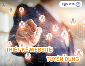 Thiết kế website tuyển dụng